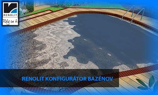 Konfigurator bazenov Renolit